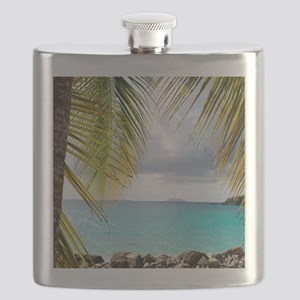 Cinnamon Bay, St. John USVI Flask