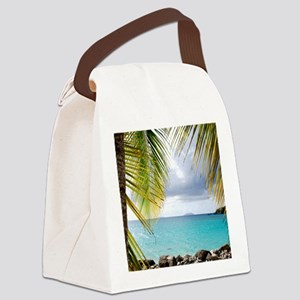 Cinnamon Bay, St. John USVI Canvas Lunch Bag