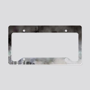 Ghost Ship - Battleship USS N License Plate Holder