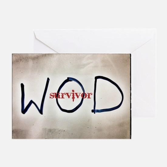 WOD Greeting Card