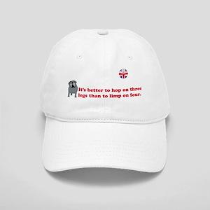 Tripawds UK Union Jack Pug Cap