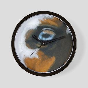 Blue eyed Wall Clock