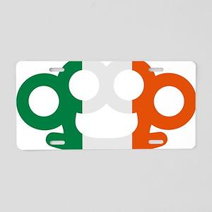 Brass knuckles Ireland Aluminum License Plate