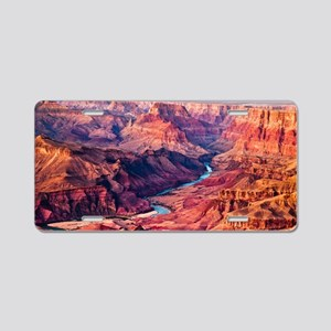 Grand Canyon Landscape Phot Aluminum License Plate