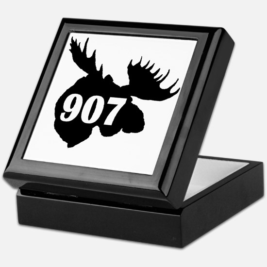 907 Moose Head Keepsake Box