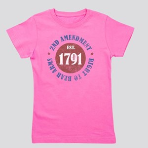 2nd Amendment Est. 1791 Girl's Tee
