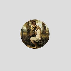 Jean-Baptiste-Camille Corot The Toilet Mini Button