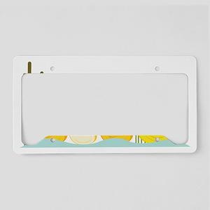 Ducky Family License Plate Holder
