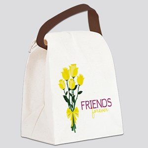 Friends Forever Canvas Lunch Bag