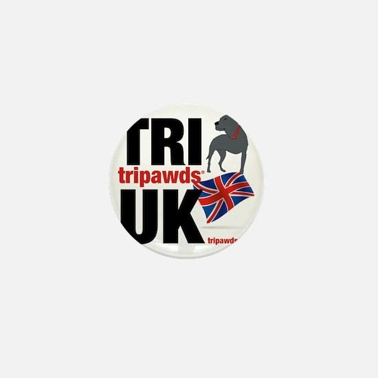 Tripawds UK Union Jack Mini Button