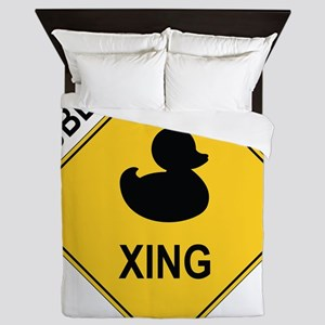 Rubber Ducky Xing Queen Duvet
