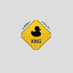 Rubber Ducky Xing Mini Button