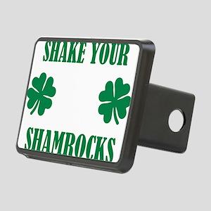Shake your shamrocks Rectangular Hitch Cover