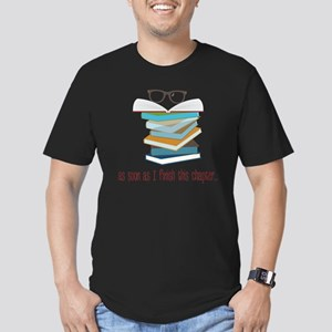 This Chapter Men's Fitted T-Shirt (dark)