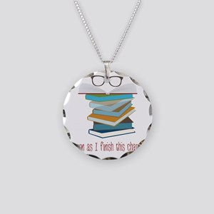 This Chapter Necklace Circle Charm