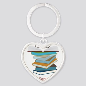 This Chapter Heart Keychain