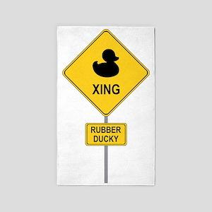 Rubber Ducky 3'x5' Area Rug