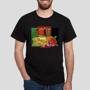 Kwanzaa Design Dark T-Shirt