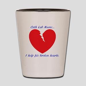Cath Lab Nurse Shot Glass