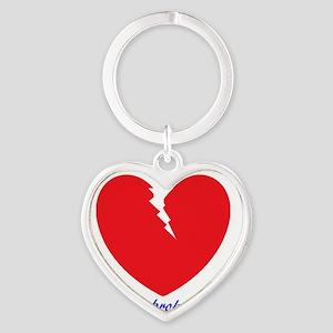 Cath Lab Nurse Heart Keychain