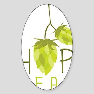 Hop Head Sticker (Oval)