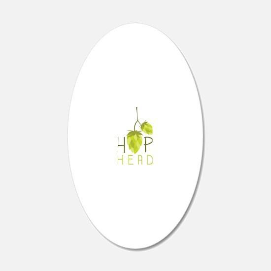 Hop Head Decal Wall Sticker