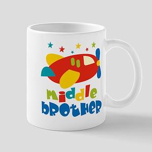 Middle Brother Plane Stars Mug