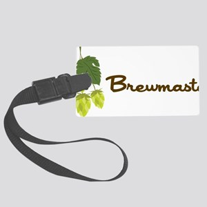 Brewmaster Large Luggage Tag