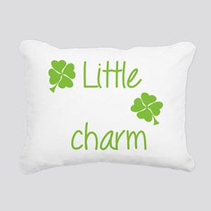 Little lucky charm Rectangular Canvas Pillow