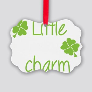 Little lucky charm Picture Ornament