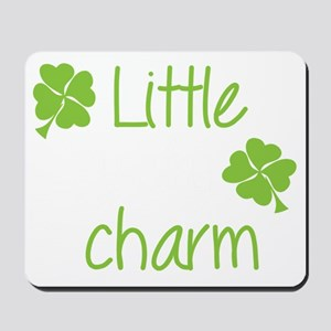 Little lucky charm Mousepad