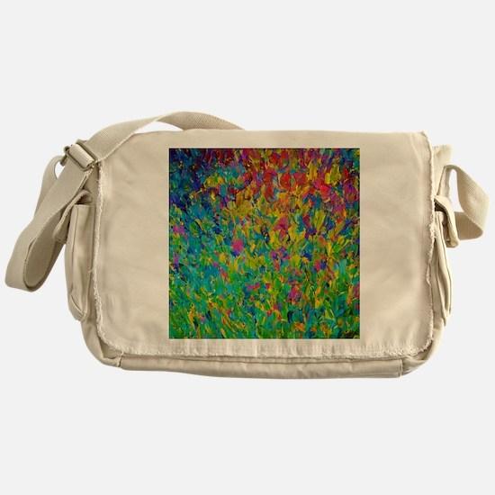 Rainbow Fields Messenger Bag