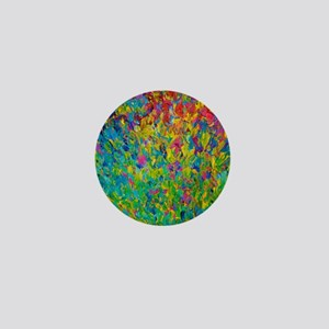 Rainbow Fields Mini Button