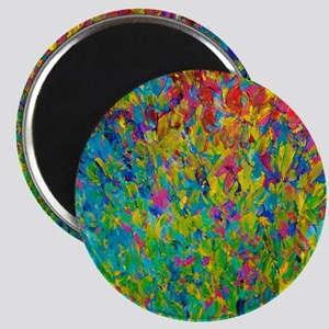 Rainbow Fields Magnet
