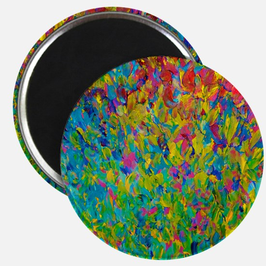 Rainbow Fields Magnet