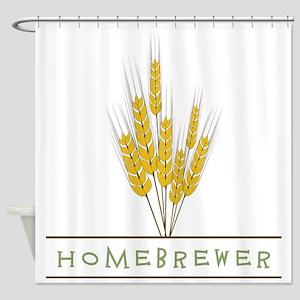 Homebrewer Shower Curtain