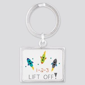 Lift Off! Landscape Keychain