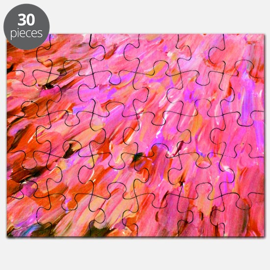 Sea Scales in Pink Puzzle
