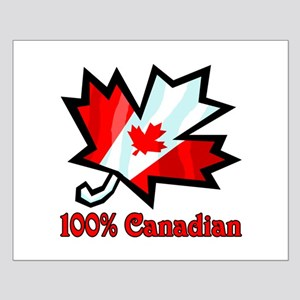 100% Canadian Small Poster