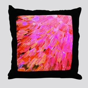 Sea Scales in Pink Throw Pillow