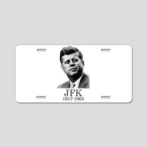 JFK 1917-1963 Aluminum License Plate