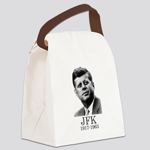 JFK 1917-1963 Canvas Lunch Bag