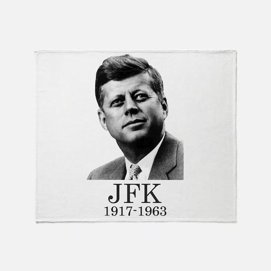 JFK 1917-1963 Throw Blanket
