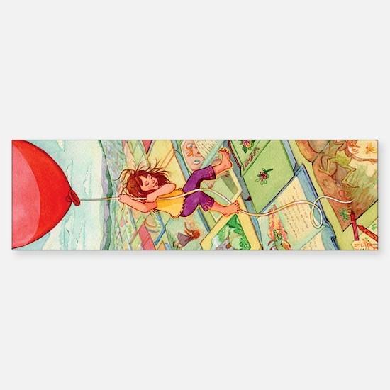 Big Red Balloon Sticker (Bumper)