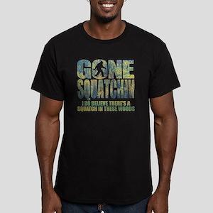 Gone Squatchin *Specia Men's Fitted T-Shirt (dark)