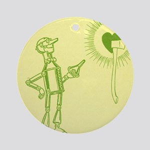 Oz Tin Woodman Round Ornament