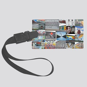 Berlin Wall Large Luggage Tag