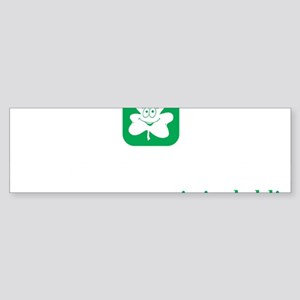 Saint Patricks Day, Funny Dublin Sticker (Bumper)
