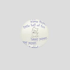 Soft Puppy Mini Button