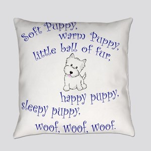 Soft Puppy Everyday Pillow
